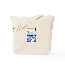 Ukiyo-e Mount Fuji Tote Bag