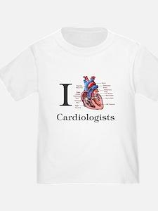 I heart Cardiologis T-Shirt