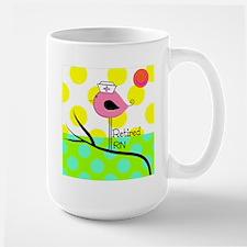 Retired RN Pillow Mug