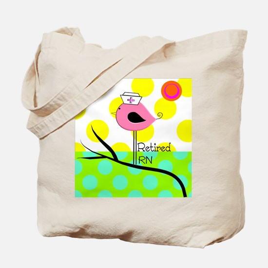 Retired RN Pillow Tote Bag