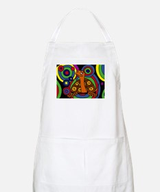 Turtle Abstract Art Apron