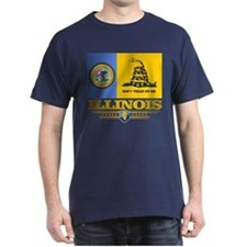 Illinois Gadsden Flag T-Shirt