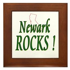 Newark Rocks ! Framed Tile