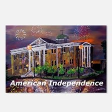 American Independence Postcards (Package of 8)