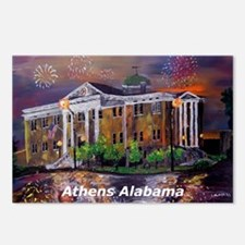 Athens Alabama Postcards (Package of 8)