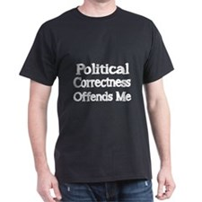 Political Correctness Offends Me-white T-Shirt