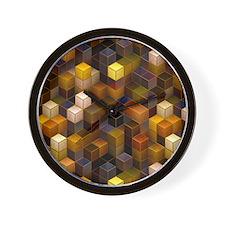 SteamCubism - Brass - Wall Clock