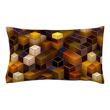 SteamCubism - Brass - Pillow Case