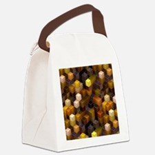 SteamCubism - Brass - Canvas Lunch Bag