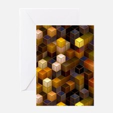 SteamCubism - Brass - Greeting Card