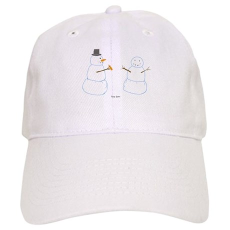 Snowman Donor The Gift Cap