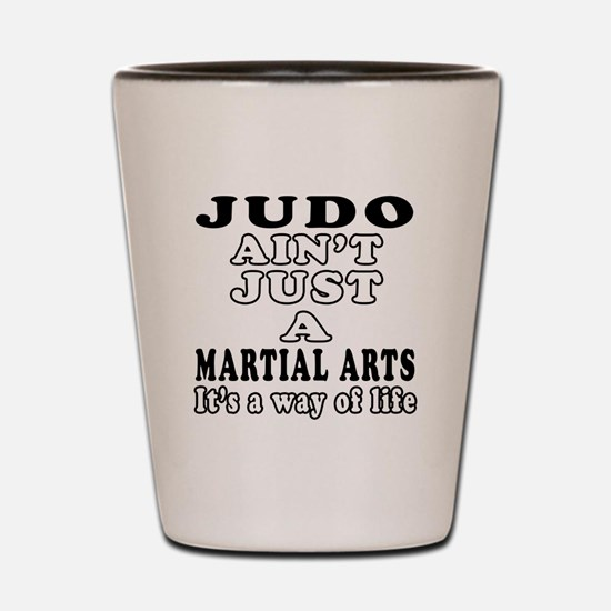 Judo Martial Arts Designs Shot Glass
