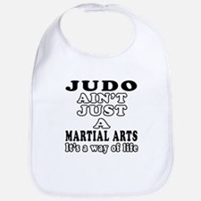 Judo Martial Arts Designs Bib