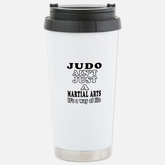 Judo Martial Arts Designs Stainless Steel Travel M