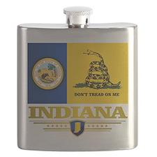 Indiana Gadsden Flag Flask