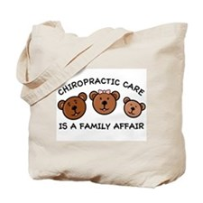 Chiro Bear Family Affair Tote Bag