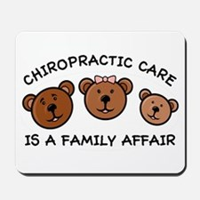 Chiro Bear Family Affair Mousepad