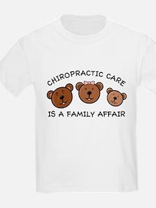 Chiro Bear Family Affair T-Shirt