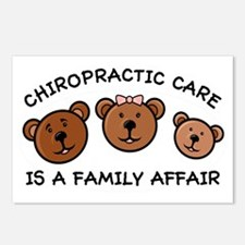 Chiro Bear Family Affair Postcards (Package of 8)