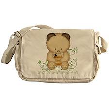 Cute Honey Bear Messenger Bag
