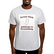 Jersey Girls Ash Grey T-Shirt