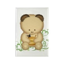 Cute Honey Bear Rectangle Magnet