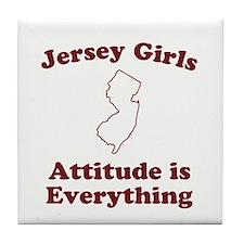 Jersey Girls Tile Coaster