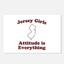Jersey Girls Postcards (Package of 8)