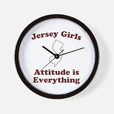 Jersey Girls Wall Clock