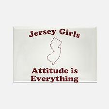 Jersey Girls Rectangle Magnet