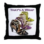 That's A Wrap Throw Pillow