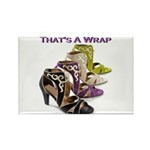 That's A Wrap Rectangle Magnet (100 pack)