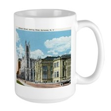 Jefferson St., Syracuse, New York Vintage Mug