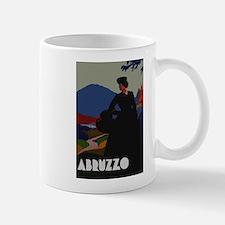 Vintage Abruzzo Italy Travel Mug