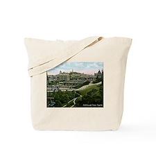 Edinburgh, Scotland, Vintage Tote Bag