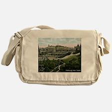 Edinburgh, Scotland, Vintage Messenger Bag
