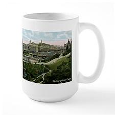 Edinburgh, Scotland, Vintage Mug