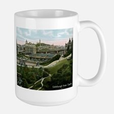 Edinburgh, Scotland, Vintage Mug