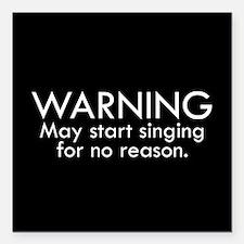 Warning: May start singing for no reason. Square C