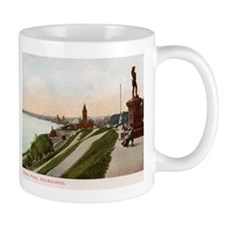 Juneau Park, Milwaukee, Wisconsin, Vintage Mug