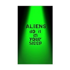 Aliens Do It Decal