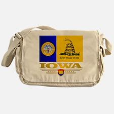 Iowa Gadsden Flag Messenger Bag