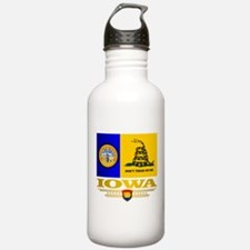 Iowa Gadsden Flag Water Bottle
