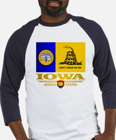 Iowa Gadsden Flag Baseball Jersey