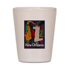 Vintage New Orleans Travel Shot Glass
