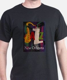 Vintage New Orleans Travel T-Shirt