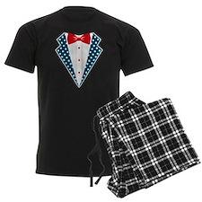 Patriotic Tuxedo Pajamas