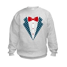 Patriotic Tuxedo Sweatshirt