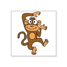 Cute Dancing Monkey Sticker