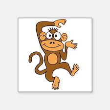 Cute Dancing Monkey Sticker